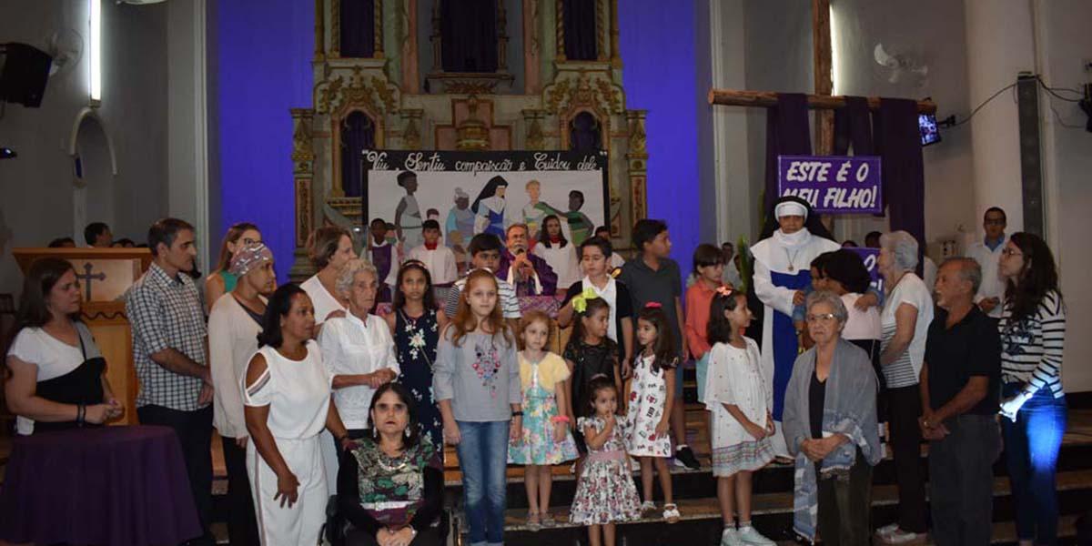 Arte em Ladrilhos comemora 100 Anos com Missa celebrada pelo Padre Antonio Maria